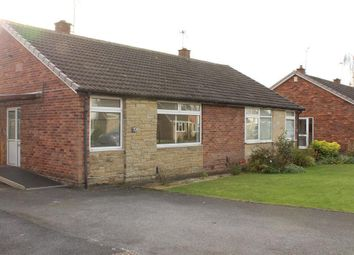 Thumbnail 2 bed bungalow to rent in Orchard Way, York