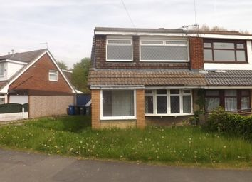 Thumbnail 3 bed semi-detached house to rent in Telford Crescent, Leigh