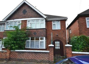 Thumbnail 3 bed semi-detached house to rent in Dixon Drive, Stoneygate, Leicester