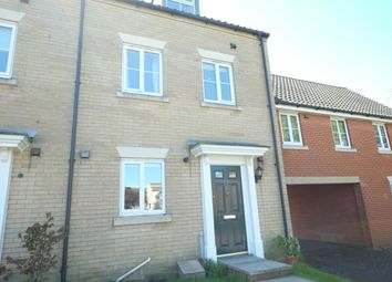 Thumbnail 3 bed town house to rent in Marauder Road, Norwich, Norfolk