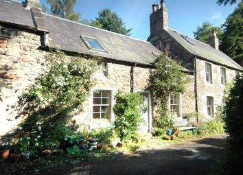 Thumbnail 2 bed cottage for sale in 12 The Row, Longformacus, Duns