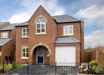 Thumbnail 4 bed detached house for sale in Newcastle Road, Arclid, Cheshire