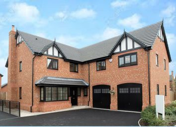 Thumbnail 5 bed detached house for sale in Cheerbrook Gardens Off Cheerbrook Road, Willaston, Nantwich