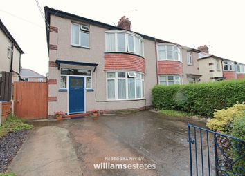 Thumbnail 3 bed semi-detached house for sale in Trellewelyn Road, Rhyl