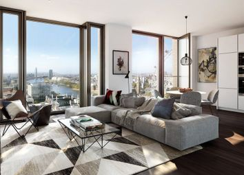 Thumbnail 2 bed flat for sale in Casson Square, Southbank Place