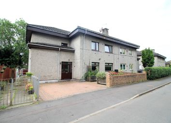 Thumbnail 3 bed flat for sale in Fastnet Street, Glasgow