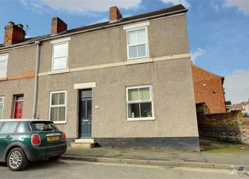 Thumbnail 3 bed end terrace house to rent in Devonshire Road North, New Whittington, Chesterfield, Derbyshire