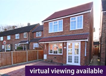 Thumbnail 3 bedroom detached house for sale in Ledger Drive, Addlestone, Surrey