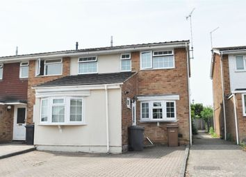 Thumbnail 3 bed end terrace house for sale in Osea Way, Springfield, Chelmsford, Essex