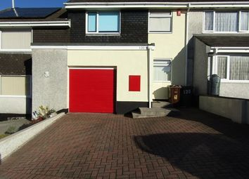 Thumbnail 1 bed terraced house to rent in Hemerdon Heights, Plympton, Plymouth