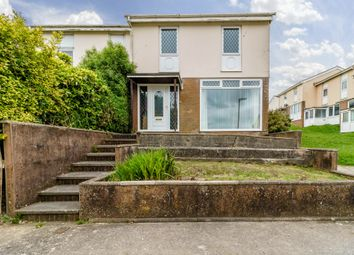 Thumbnail 3 bedroom end terrace house for sale in Westfield, Plympton, Plymouth