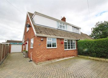Thumbnail 3 bed semi-detached house for sale in Fir Tree Close, Thorpe Willoughby, Selby