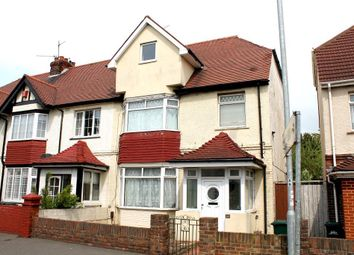 Thumbnail 4 bed semi-detached house for sale in Old Shoreham Road, Hove