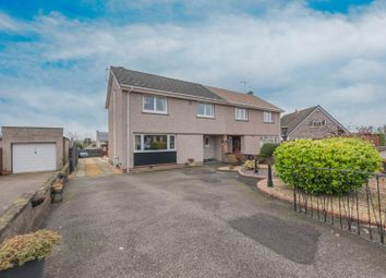 Thumbnail 3 bed semi-detached house for sale in Newtonshaw, Sauchie, Alloa