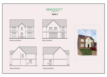 Thumbnail 4 bed detached house for sale in Chessington Gardens Thorne Road, Edenthorpe, Doncaster