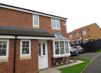 Thumbnail 3 bed semi-detached house for sale in Torrance Close, Ashington