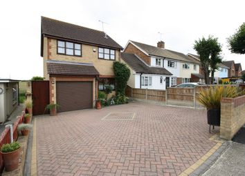 Thumbnail 3 bed detached house for sale in Hall Road, Aveley, South Ockendon