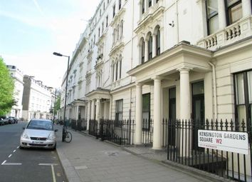 Thumbnail 2 bed flat to rent in Kensington Gardens Square, London