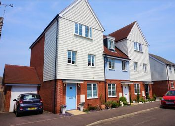 Thumbnail 4 bed town house for sale in Heron Way, Harwich