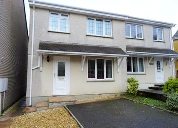 Thumbnail 3 bed semi-detached house to rent in Hazelmead, Liskeard