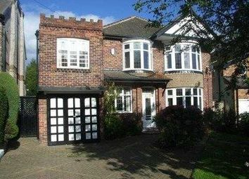 Thumbnail 5 bed detached house to rent in Dobcroft Road, Sheffield