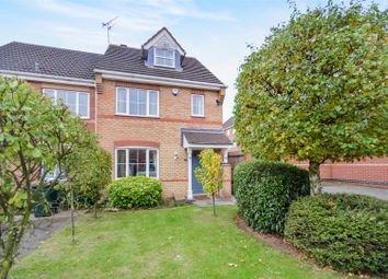 Thumbnail 4 bed end terrace house for sale in Rodyard Way, Parkside, Coventry