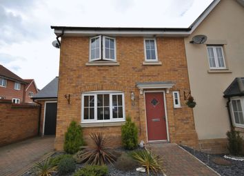 Thumbnail 3 bedroom end terrace house for sale in Heron Road, Costessey, Norwich