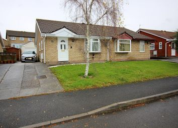 Thumbnail 2 bed semi-detached bungalow for sale in Fairoak Chase, Brackla, Bridgend County.