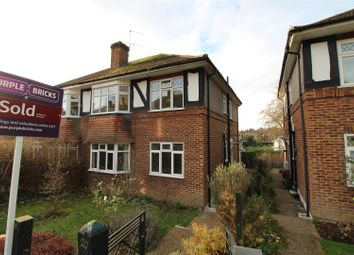 Thumbnail 2 bedroom maisonette for sale in Mill Vale, Bromley
