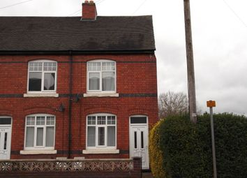 Thumbnail 2 bed end terrace house to rent in Tamworth Road, Two Gates, Tamworth