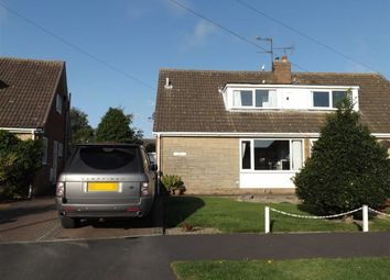 Thumbnail 3 bed semi-detached house for sale in Elvaston Avenue, Hornsea, East Yorkshire