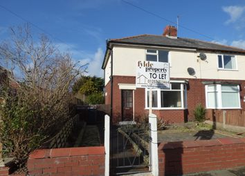 Thumbnail 3 bed semi-detached house to rent in St.Leonards Road, Lytham St.Annes