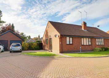 Thumbnail 2 bed semi-detached bungalow for sale in Kirk Croft, Cottingham