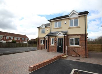 Thumbnail 2 bed semi-detached house for sale in Kensington Close, Seghill, Cramlington