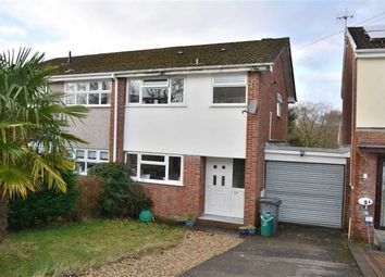 Thumbnail 3 bed semi-detached house for sale in Pinecroft Avenue, Aberdare, Rhondda Cynon Taff