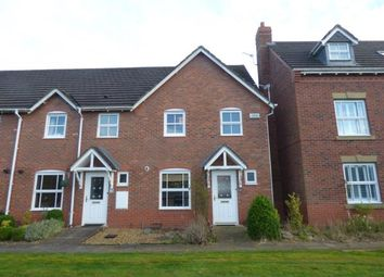 Thumbnail 3 bed end terrace house for sale in Bucklow Gardens, Lymm, Cheshire