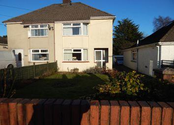 Thumbnail 3 bed semi-detached house for sale in Rhyd Clydach, Brynmawr, Ebbw Vale