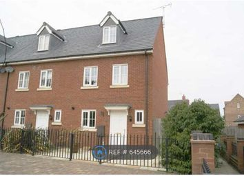 Thumbnail 3 bed end terrace house to rent in Stonechat Road, Rugby