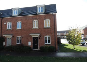 Thumbnail 3 bed end terrace house to rent in Banks Crescent, Stamford, Lincolnshire