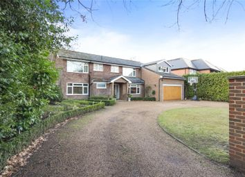 Thumbnail 5 bed detached house for sale in Broom Way, Weybridge, Surrey
