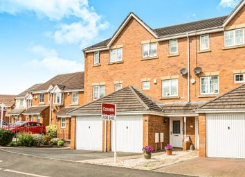 Thumbnail 3 bedroom town house for sale in Saddlers Close, Halesowen