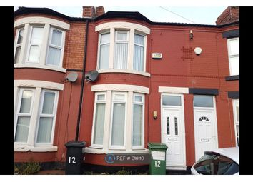 Thumbnail 2 bed terraced house to rent in Montrose Avenue, Wallasey