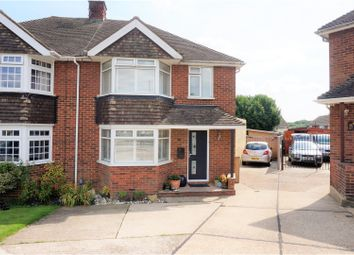 Thumbnail 3 bed semi-detached house for sale in Gainsborough Close, Gillingham