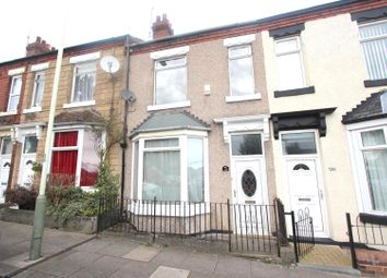 Thumbnail 3 bed terraced house to rent in Westmoreland Street, Darlington