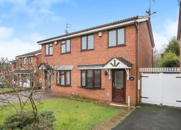 Thumbnail 2 bedroom semi-detached house for sale in Willingworth Close, Sedgmoor Park, Bilston