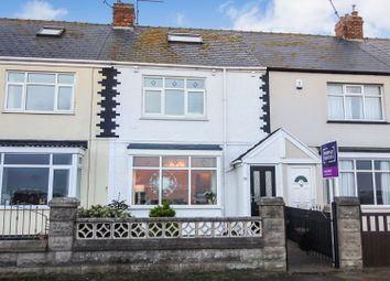 Thumbnail 3 bed terraced house for sale in Marine Drive, Hartlepool