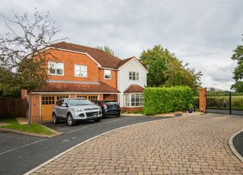 Thumbnail 5 bed detached house for sale in Top Park Close, Warburton, Lymm
