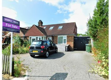 Thumbnail 3 bed semi-detached bungalow for sale in Coombe Road, Steyning
