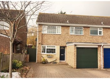 Thumbnail 3 bed semi-detached house for sale in Drysdale Close, Wickhamford