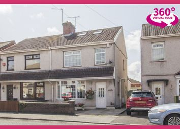 Thumbnail 3 bed semi-detached house for sale in Nash Road, Newport